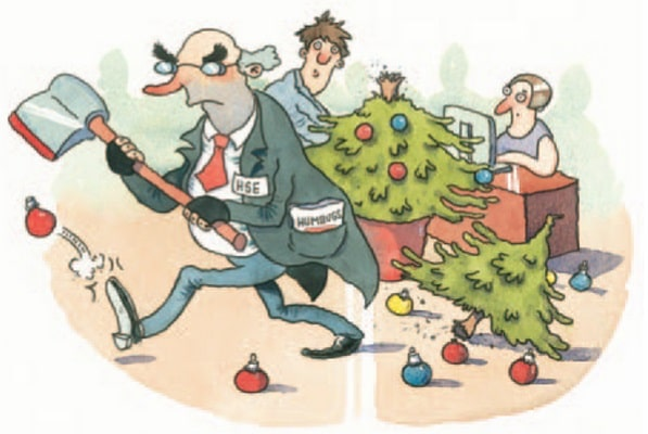 Health and Safety Executive - Myths of Christmas