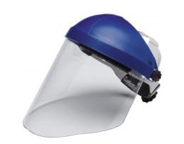 Защитен екран познат като шлем