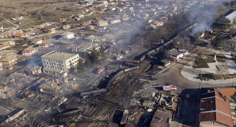 Взрив на гара Хитрино