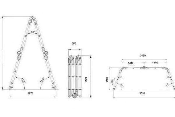 Инструкция за безопасност при работа с преносими изтеглящо опорни стълби
