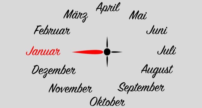 Януари