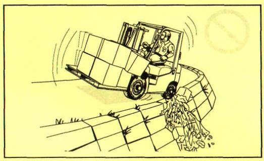Осигурете мерки за безопасност на опасните места
