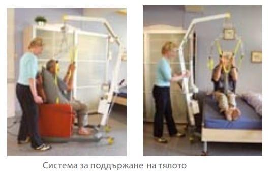 Система за поддържане на тялото