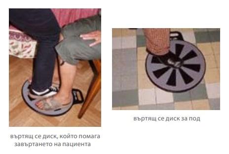 Въртящ се диск за пациенти