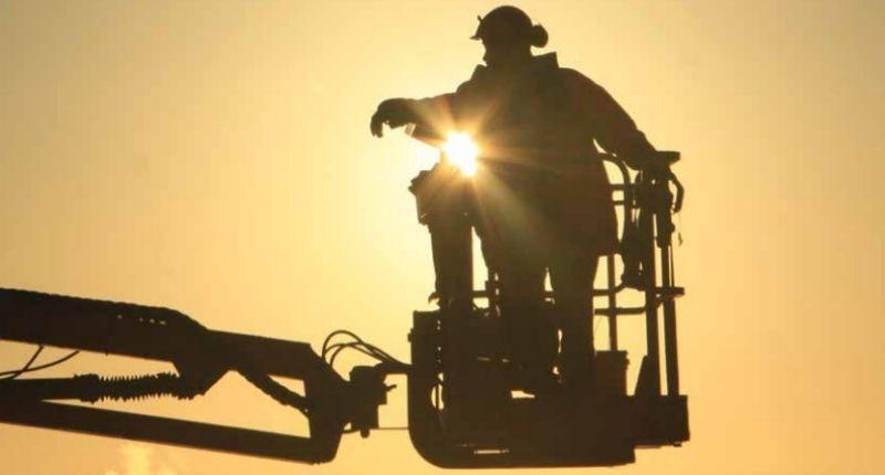 Инциденти с подвижни работни площадки - вишки