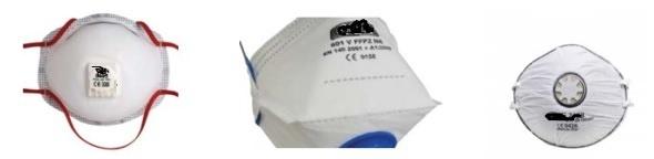 Полумаски за защита от частици