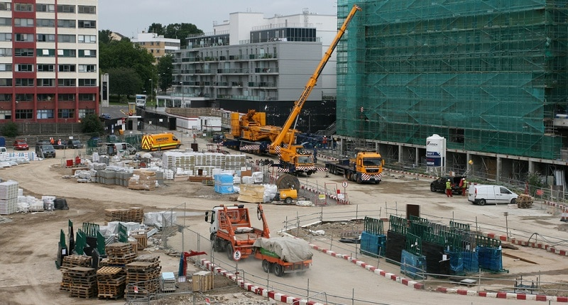 Wembley City construction site